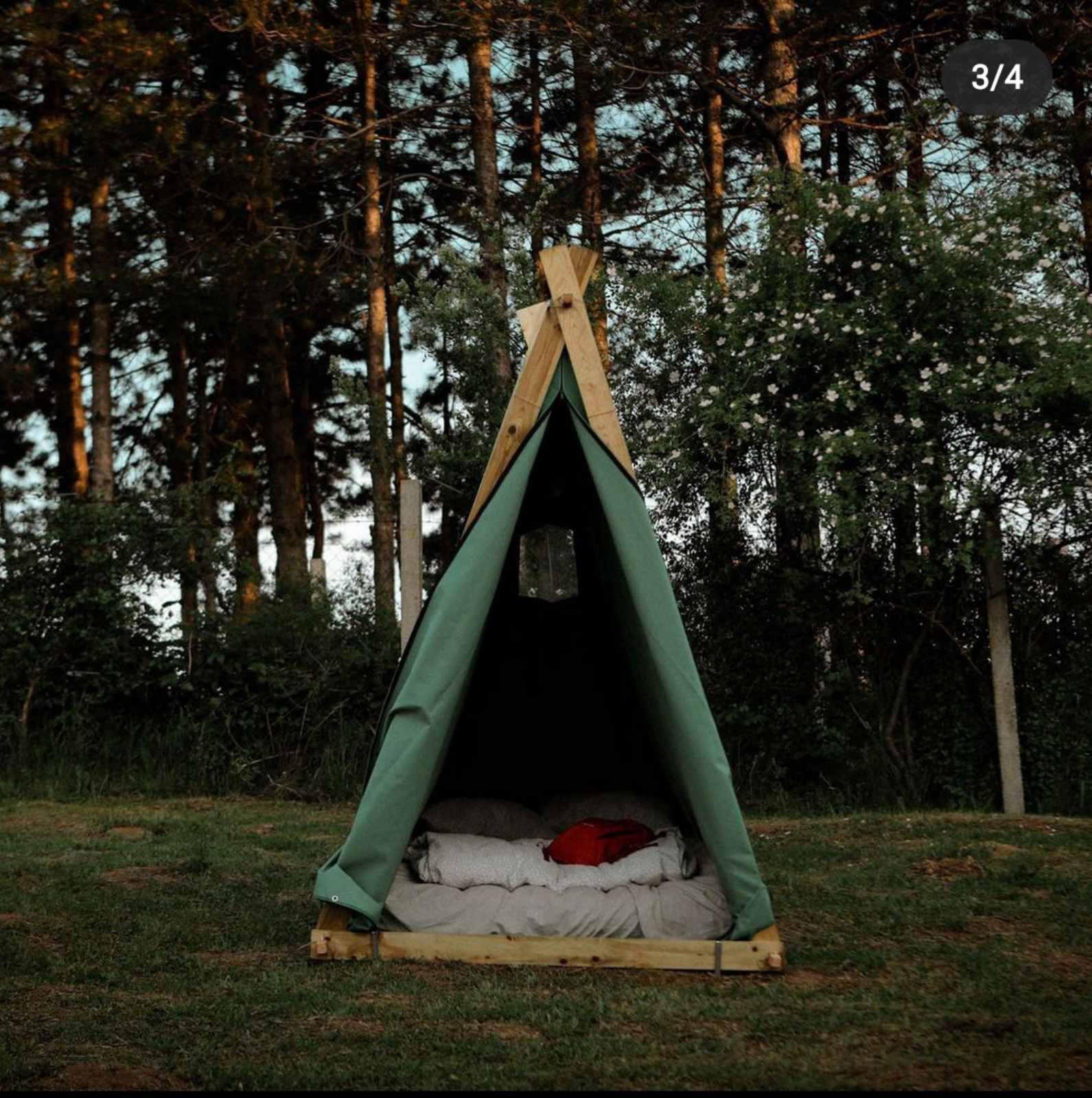 yoga i kamp